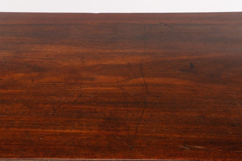 George III Mahogany Four Drawer Chest, E.19th C. - 4