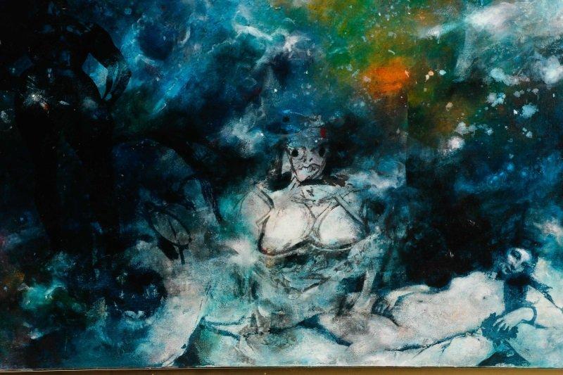 "Robert Hild, ""Her/Space"", Acrylic On Canvas - 3"
