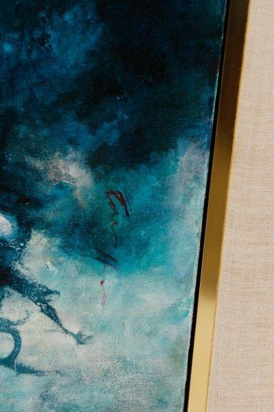 "Robert Hild, ""Her/Space"", Acrylic On Canvas - 5"