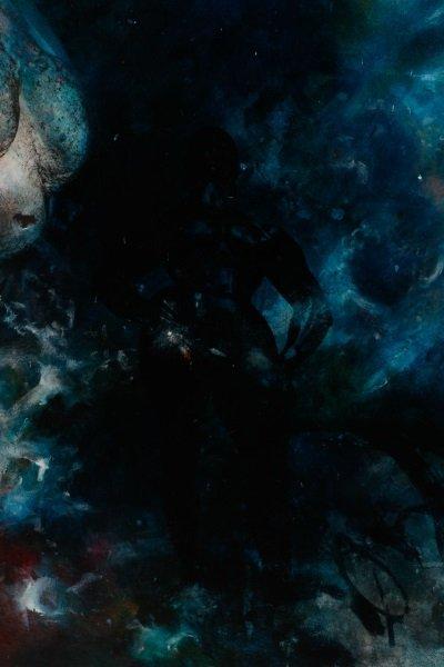 "Robert Hild, ""Her/Space"", Acrylic On Canvas - 6"
