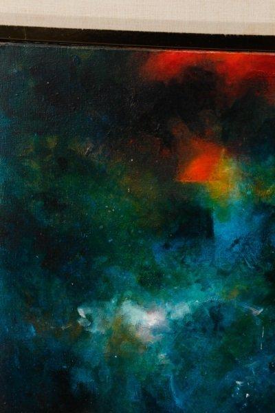 "Robert Hild, ""Her/Space"", Acrylic On Canvas - 7"