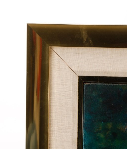"Robert Hild, ""Her/Space"", Acrylic On Canvas - 8"