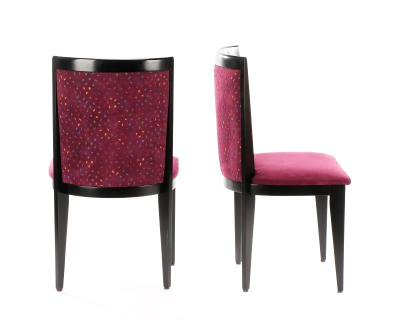 Pair of Contemporary Italian Side Chairs by Cabas - 10