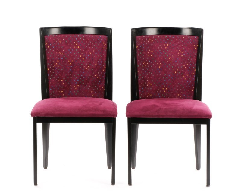 Pair of Contemporary Italian Side Chairs by Cabas - 2