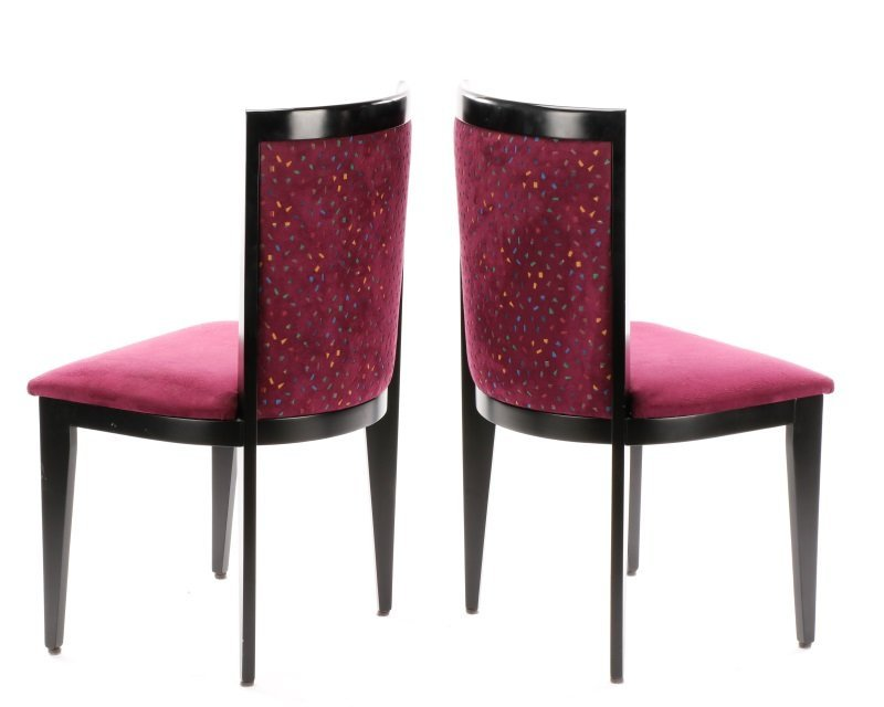 Pair of Contemporary Italian Side Chairs by Cabas - 6