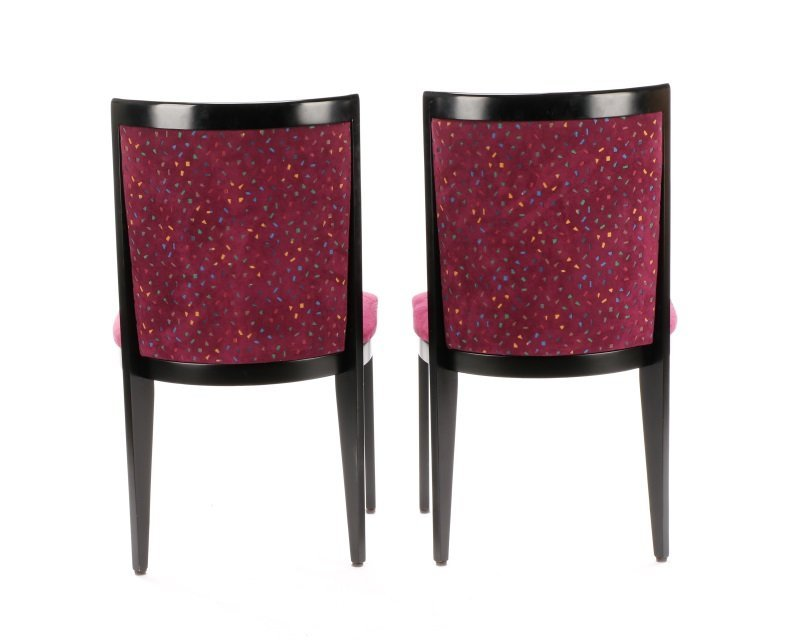 Pair of Contemporary Italian Side Chairs by Cabas - 7