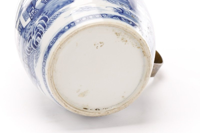 Fine Chinese Export Blue Willow Pitcher, c.1810 - 9