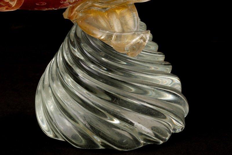 Pair, Murano Glass Pheasants, Attributed to Seguso - 5