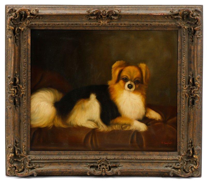 Style Of George Stubbs, Portrait Of Pomeranian