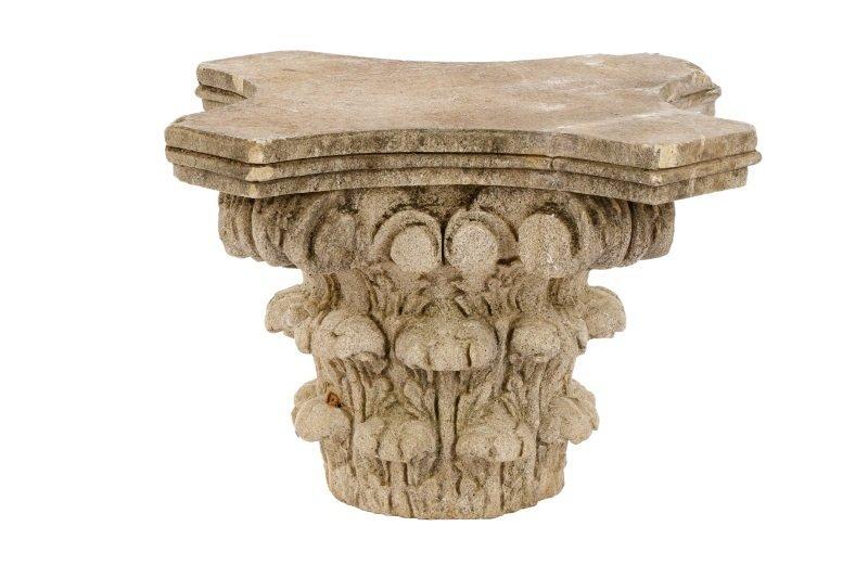 Cast Stone Corinthian Style Capital