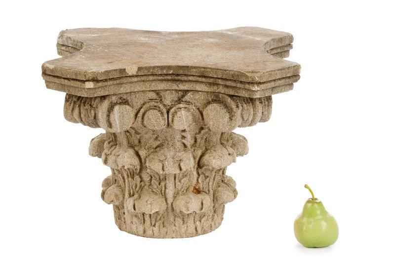 Cast Stone Corinthian Style Capital - 4