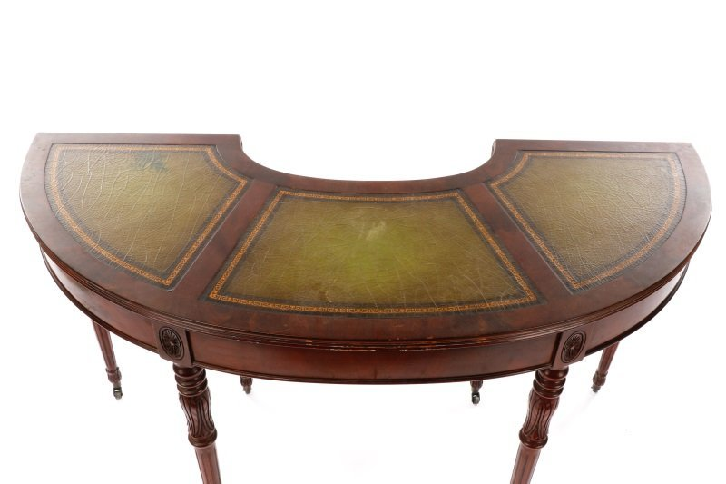 Sheraton Style Demilune Hunt or Wine Tasting Table - 2