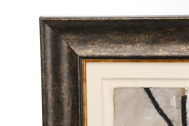 """T. L. Lange, """"Nude Woman In Profile"""", Mixed Media - 8"""