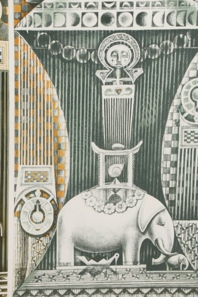 "John T. Biggers, ""Family Ark"", Lithograph Triptych - 6"