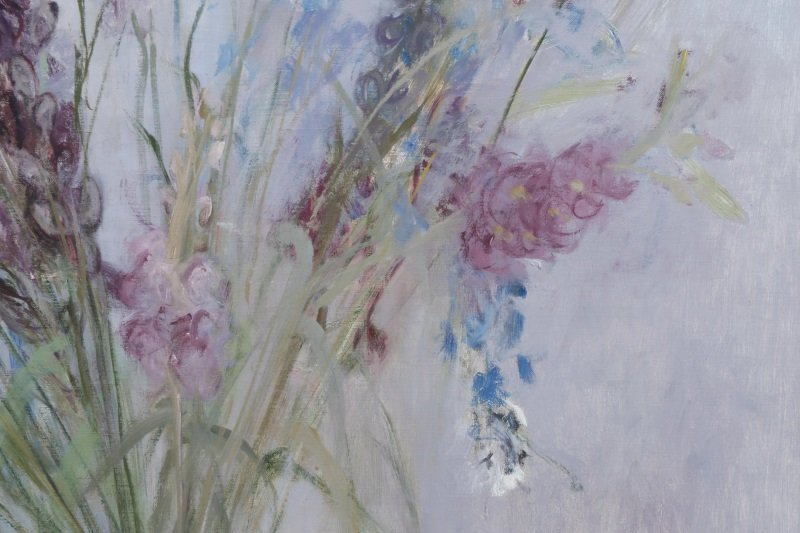 "Haidee Becker, ""Delphinium, Aconite And Stock"" - 5"