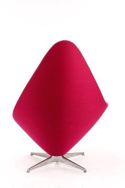 Erik Magnussen Plateau Lounge Chair in Fuchsia - 3