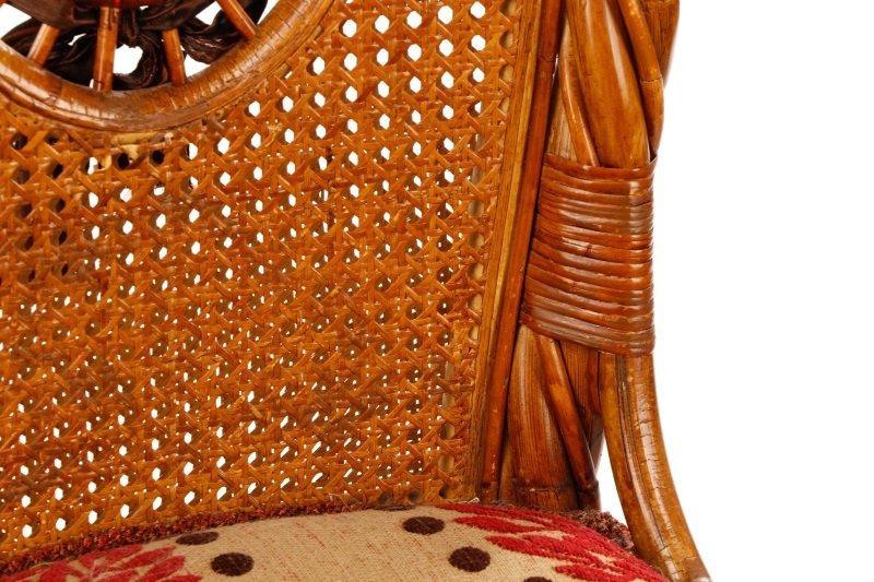 Set of 4 Mackenzie-Childs Wicker Side Chairs - 6