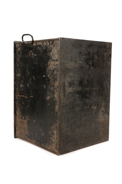 Hobbs & Co Painted Steel Safe, Late 19th - 6