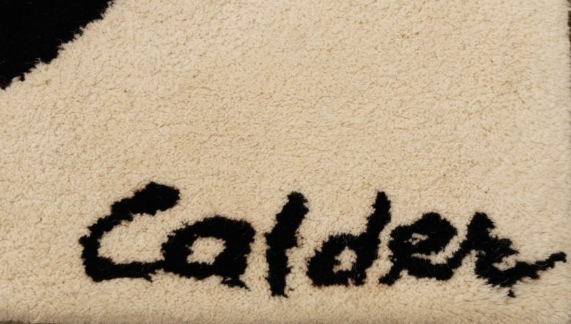 After Alexander Calder 'Boomerang' Wool Rug - 2