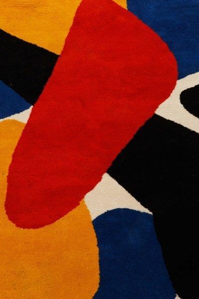 After Alexander Calder 'Boomerang' Wool Rug - 3