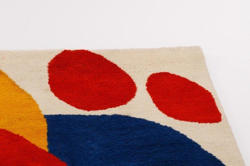 After Alexander Calder 'Boomerang' Wool Rug - 4