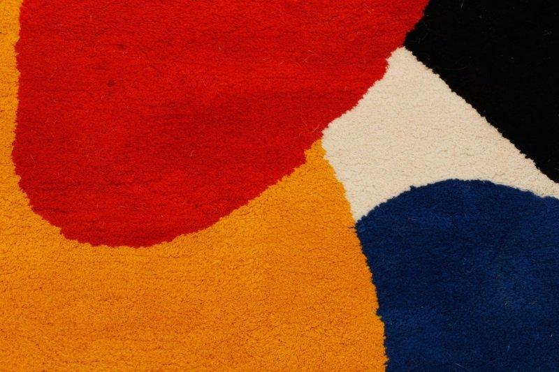 After Alexander Calder 'Boomerang' Wool Rug - 5