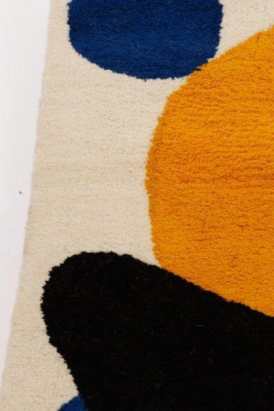 After Alexander Calder 'Boomerang' Wool Rug - 6