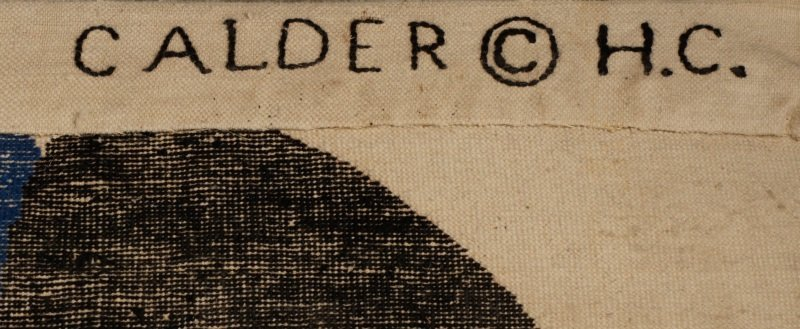 After Alexander Calder 'Boomerang' Wool Rug - 7