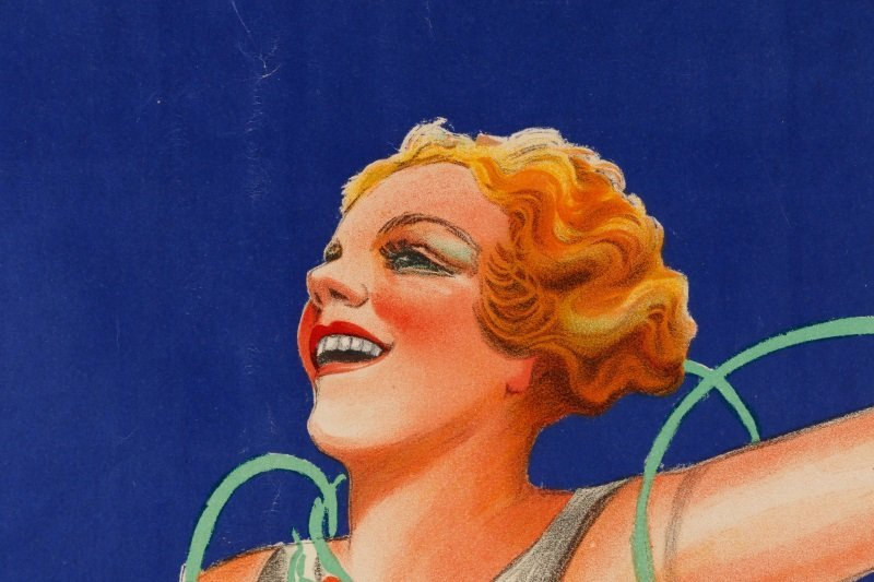 Vintage French Lillet Advertising Poster, 1930s - 2