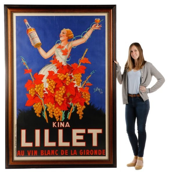 Vintage French Lillet Advertising Poster, 1930s - 9