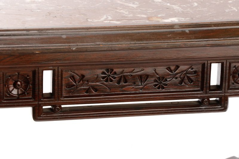 Scarce Aesthetic Movement Marble Top Center Table - 4
