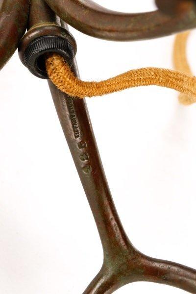 Bronze Telescoping Root Lamp Base, Tiffany - 3