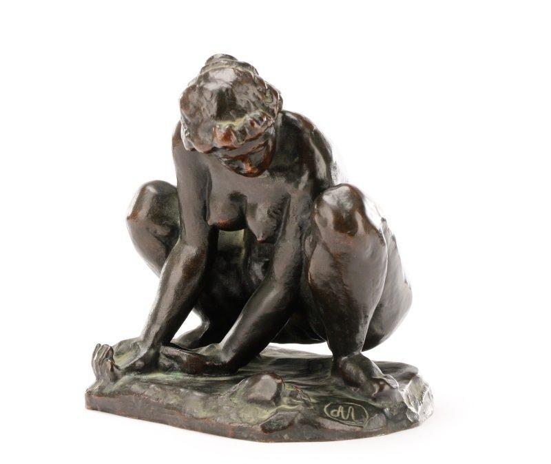 """After Aristide Maillol, """"Femme au Crabe"""", Bronze"""