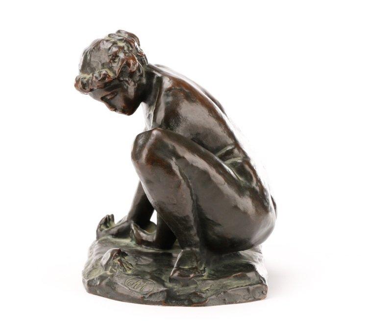 """After Aristide Maillol, """"Femme au Crabe"""", Bronze - 7"""