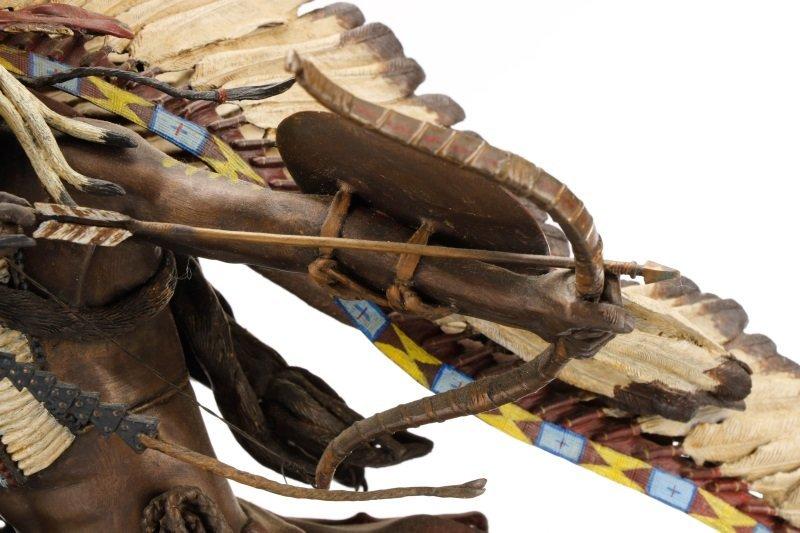 """Don Baker, """"Lakota War Cry"""", Bronze Sculpture - 9"""