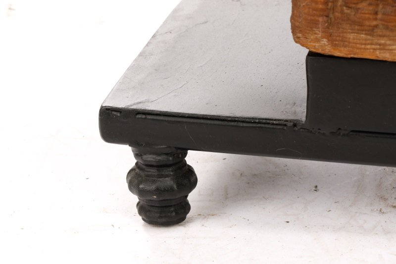 Architectural Carved Wood Fragment Console Table - 8