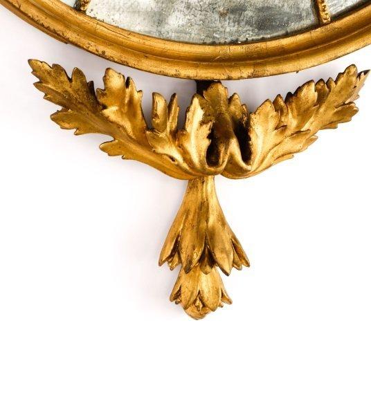 American Federal Gilt Wood Mirror, Early 19th C. - 2