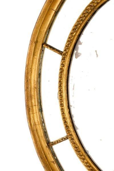 American Federal Gilt Wood Mirror, Early 19th C. - 3