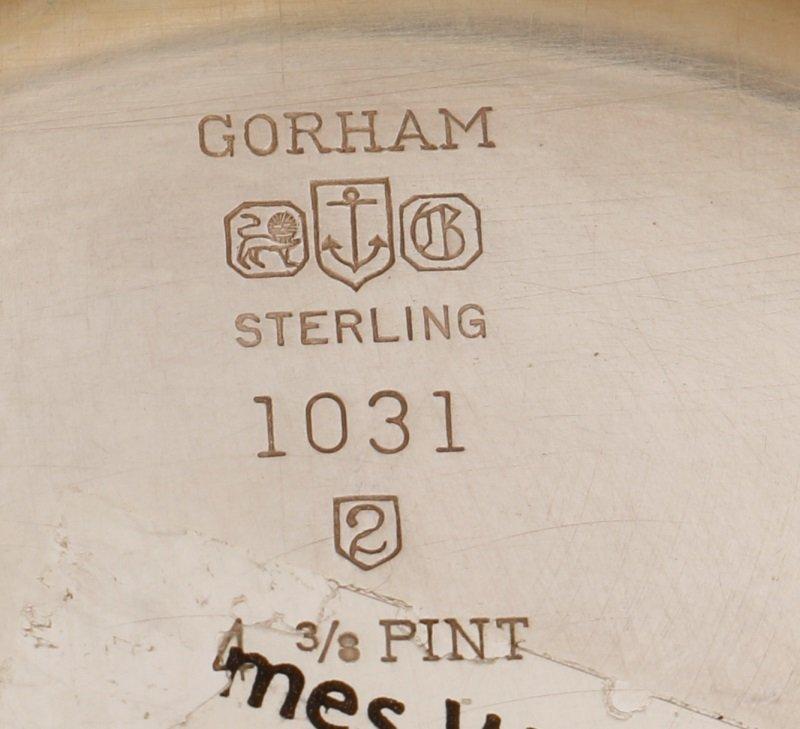 """Gorham """"Victorian"""" Sterling Water Pitcher, c.1952 - 6"""