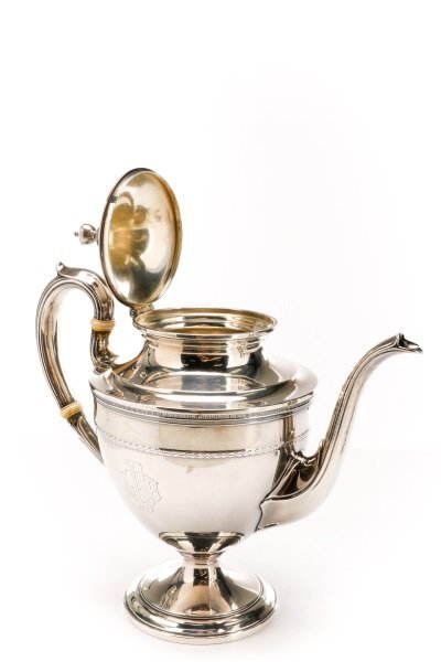 Gorham Edgeworth 5 Pc. Sterling Tea Service c.1930 - 6