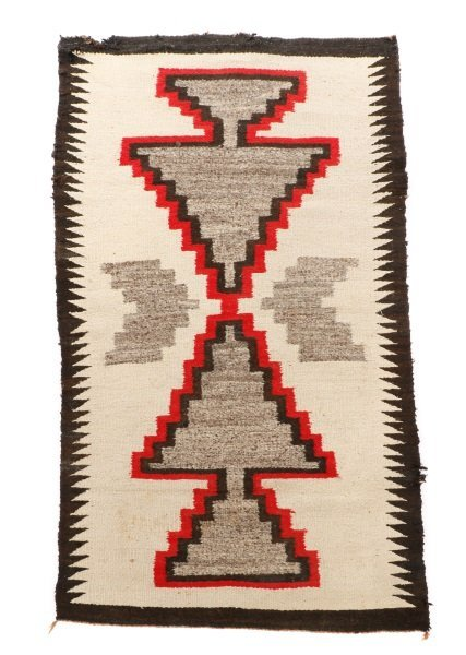 Navajo Wool Woven Regional Rug, Klegaetoh Region