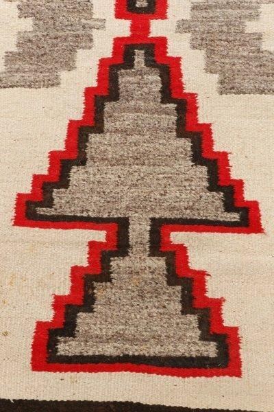 Navajo Wool Woven Regional Rug, Klegaetoh Region - 2
