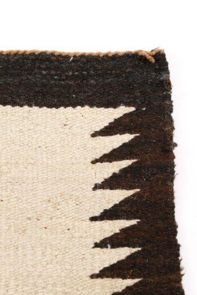 Navajo Wool Woven Regional Rug, Klegaetoh Region - 4
