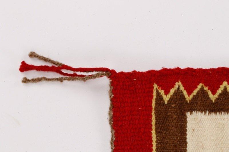 Navajo Wool Woven Regional Rug, 20th C. - 5