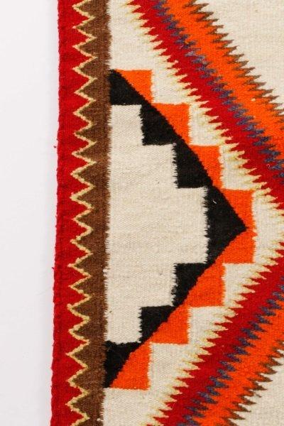 Navajo Wool Woven Regional Rug, 20th C. - 7