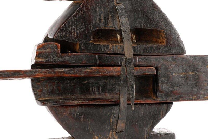 African Dogon Carved Granary Door Lock or Anuan - 9