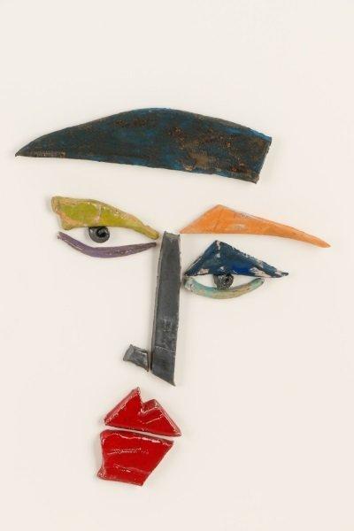 Kim Cantrell, Two Faces, Ceramic Sculpture - 4