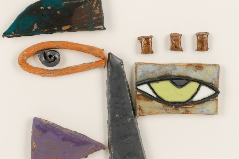 Kim Cantrell, Two Faces, Ceramic Sculpture - 5