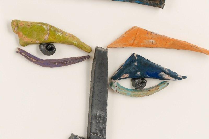 Kim Cantrell, Two Faces, Ceramic Sculpture - 7