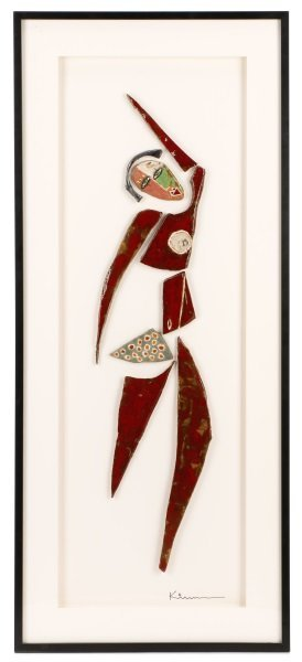 Kim Cantrell, Large Figural Ceramic Sculpture